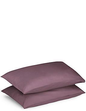 2 Pack Percale Pillowcase