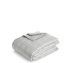 Vintage Check Brushed Cotton Throw