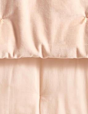 Velvet Tufted Small Bedspread