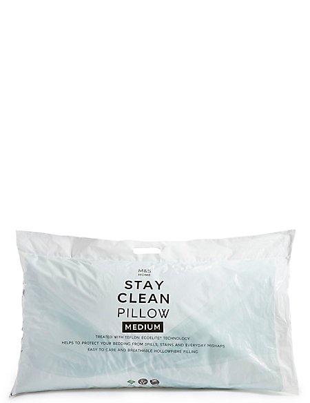 Stay Clean Medium Pillow