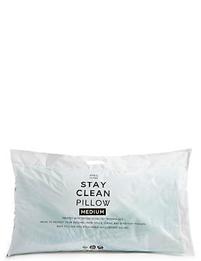 Stay Clean Medium Pillow