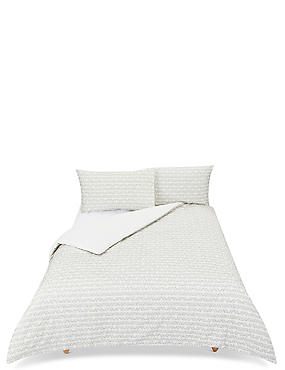 Pure Cotton Textured Bedding Set