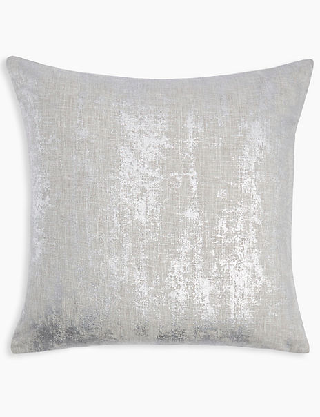 Metallic Square Cushion