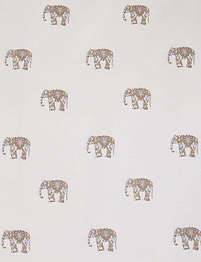 Elephant Print Bedding Set