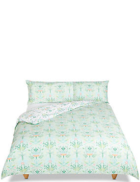 Floral Geometrical Print Bedding Set
