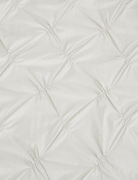 Printed Smocking Stripe Bedding Set