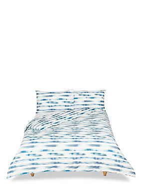 Watercolour Striped Bedding Set