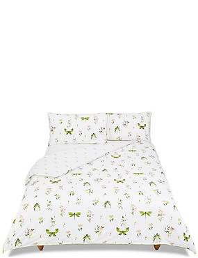 Bug Print Bedding Set