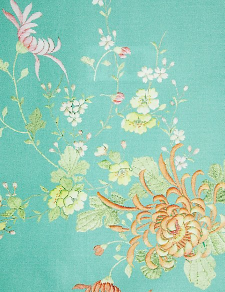 Kimono Print & Embroidery Bedding Set