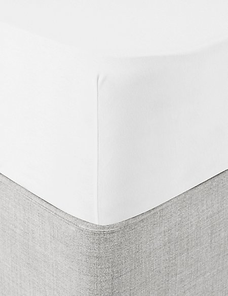 Brushed Fitted Sheet