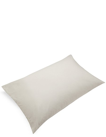 2 Brushed Housewife Pillowcases