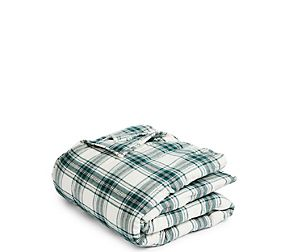 Austin Check Brushed Cotton Throw