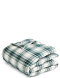 Austin Check Quilted Brushed Bedspread