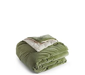 Cotton Velvet Tufted Bed Throw