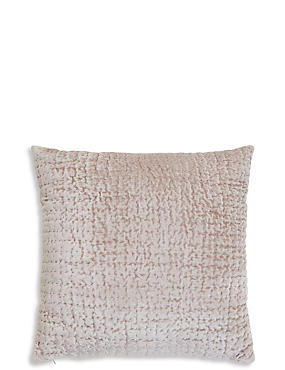 Velvet Stitch Cushion