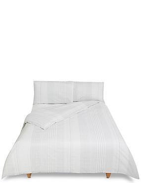 Mock Seersucker Printed Bedding Set