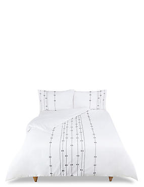 Perry Embroidered Bedding Set