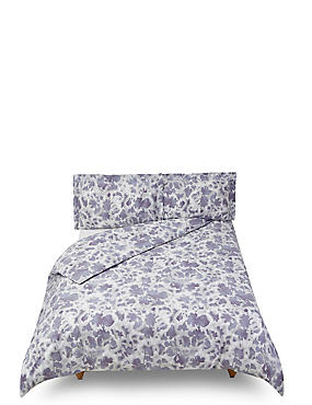 Abstract Floral Printed Bedding Set