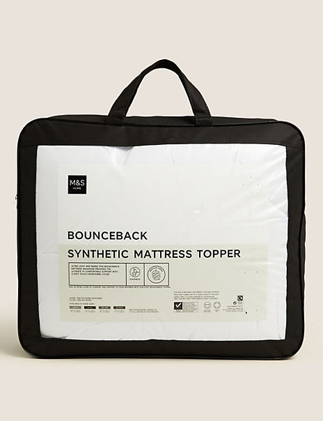 Soft Touch Microfibre Bounceback Mattress Enhancer