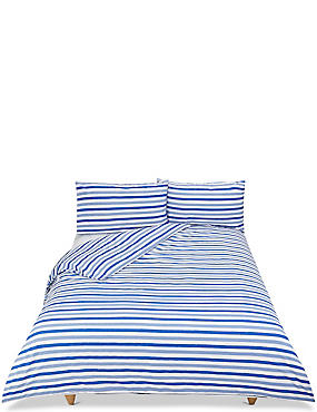 Elliott Printed Stripe Bedding Set