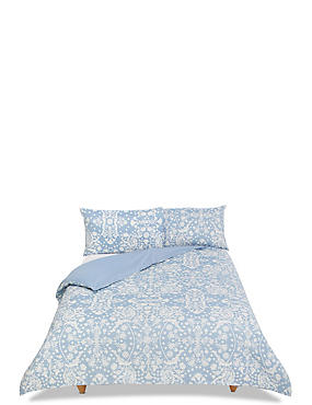 Casual Floral Jacquard Bedding Set