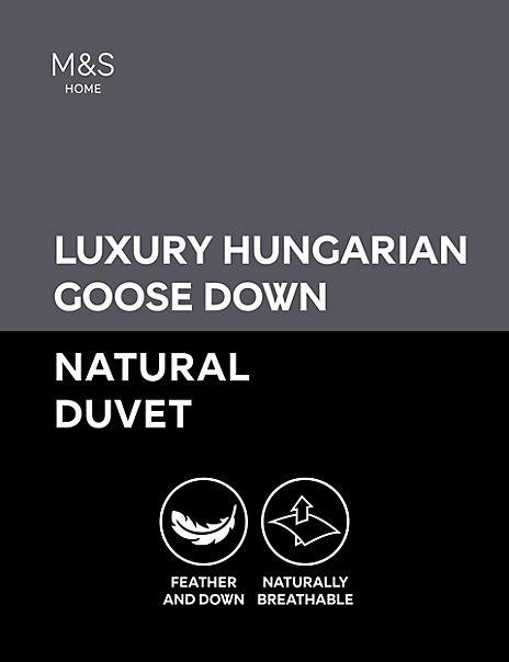 Luxury Hungarian Goose Down 13.5 Tog Duvet