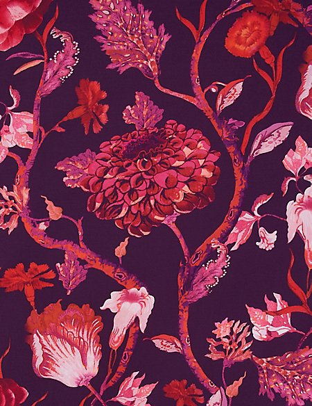 Meghan Floral Print Bedding Set