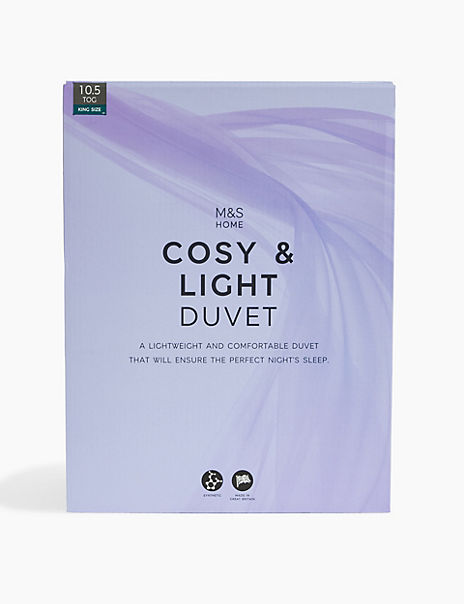 Cosy & Light 10.5 Tog Duvet