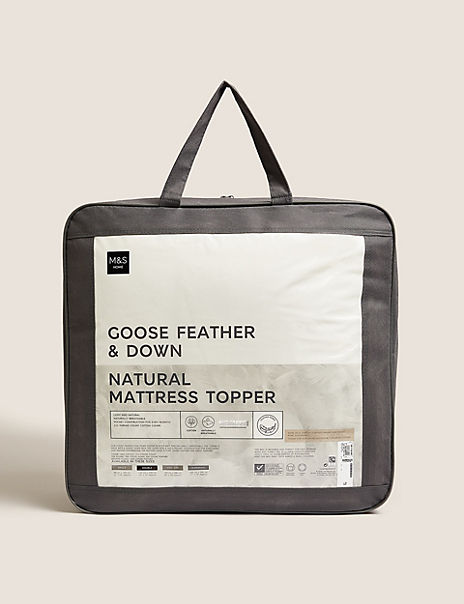 Goose Feather Down Mattress Topper