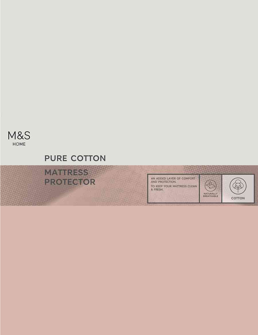 Cotton Mattress Protector | M&S