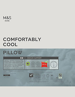 Comfortably Cool Medium Pillow
