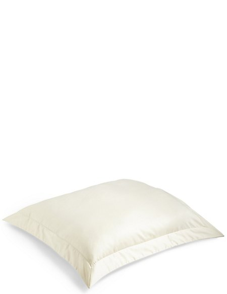 Egyptian Cotton 400 Thread Count Sateen Square Pillowcase