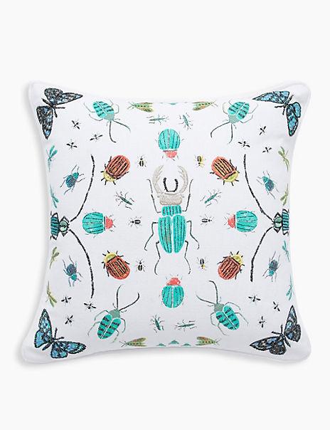 Bugs Printed Cushion