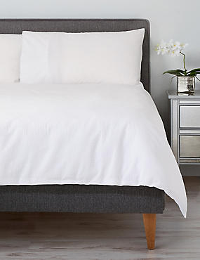 Cotton Rich Seersucker Bedding Set