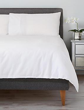 Cotton Rich Seersucker Bedding Set