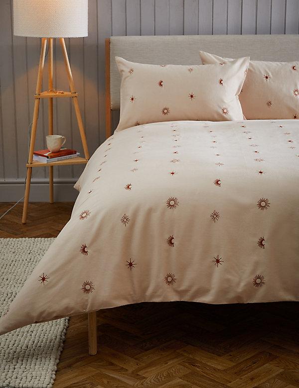 Pure Cotton Sun & Moon Bedding Set