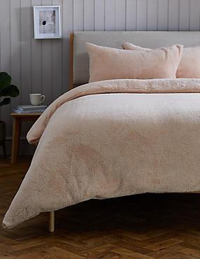 Teddy Fleece Bedding Set
