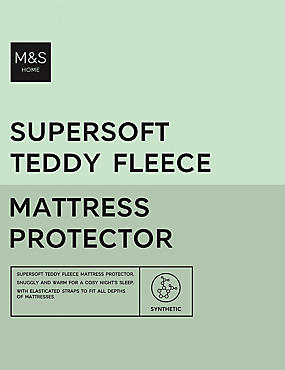 Teddy Fleece Mattress Protector