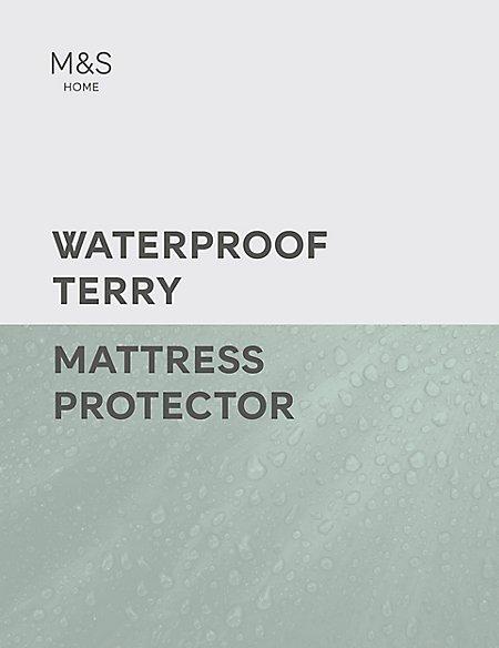 Terry Cotton Waterproof Mattress Protector