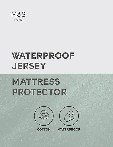 Jersey Cotton Waterproof Mattress Protector