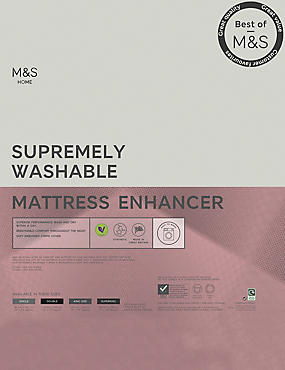 Supremely Washable Mattress Topper