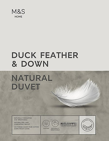 Duck Feather & Down 4.5 Tog Duvet