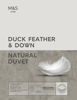 Duck Feather & Down 13.5 Tog Duvet by Marks & Spencer