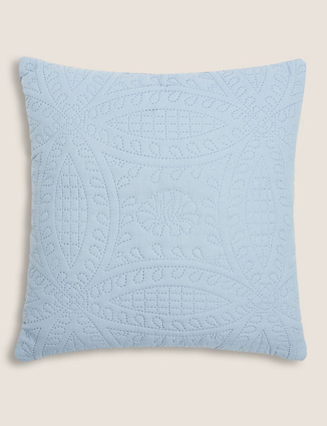 Pinsonic Patterned Cushion