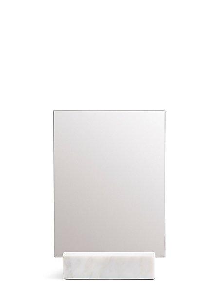Marble Pedestal Mirror