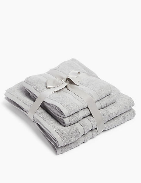 Super Soft Lightweight 4 Piece Towel Bale