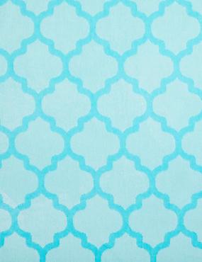 Tile Print Beach Towel