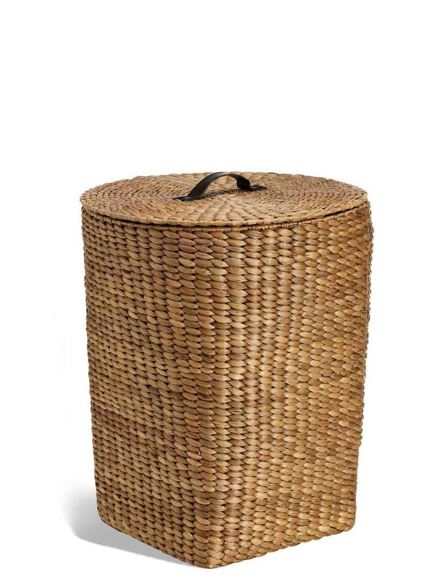 Water Hyacinth Laundry Basket
