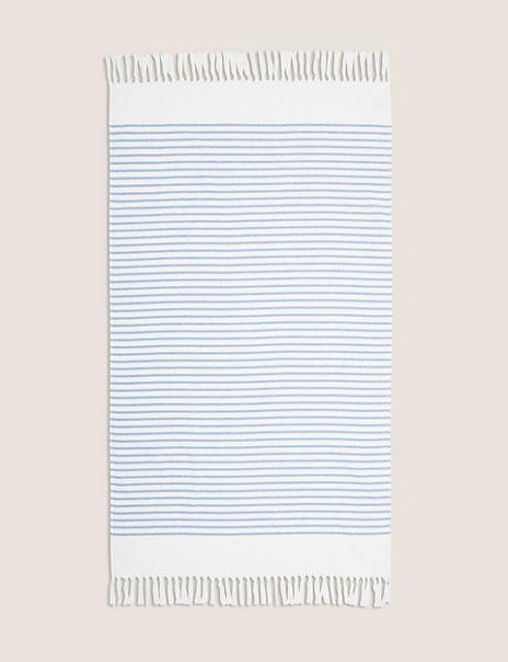 Striped Lightweight Hammam Beach Towel