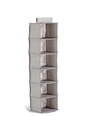6 Shelf Organiser